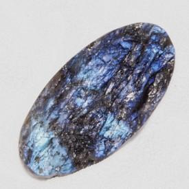 LABRADORITE bleue indigo -...