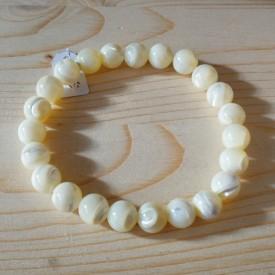 NACRE - Bracelet Perles 8mm