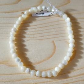 NACRE - Bracelet Perles 4 mm