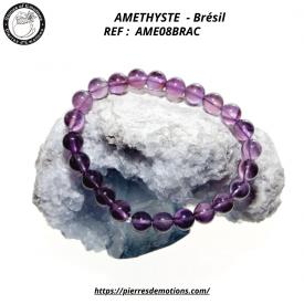 AMETHYSTE - Bracelet de...
