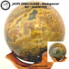 JASPE ORBICULAIRE - Sphère...
