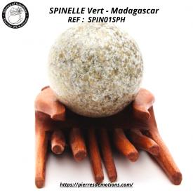 SPINELLE Vert - Sphère de...