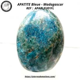 APATITE BLEUE - Belle forme...