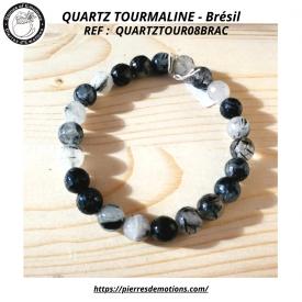 QUARTZ TOURMALINE- Bracelet...