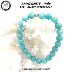 AMAZONITE -  Bracelet...