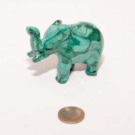 MALACHITE - Joli éléphant...