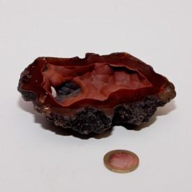 CALCEDOINE rouge (Hématite)...