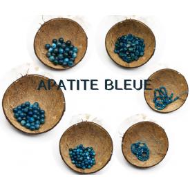 APATITE BLEUE -  Perles...