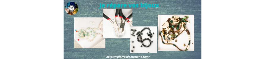 Réparation de vos bijoux en pierres naturelles : Sur DEVIS