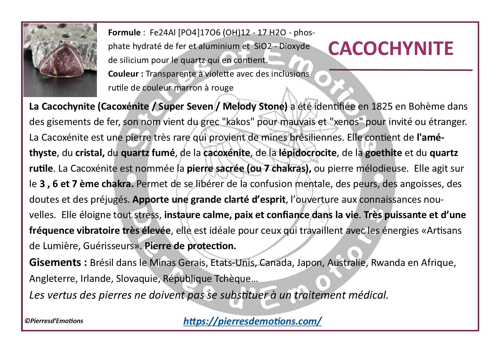 Cacochynite