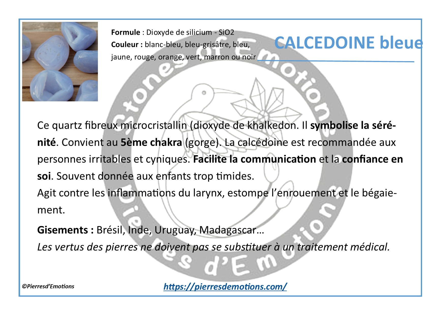 CalcedoineBleue