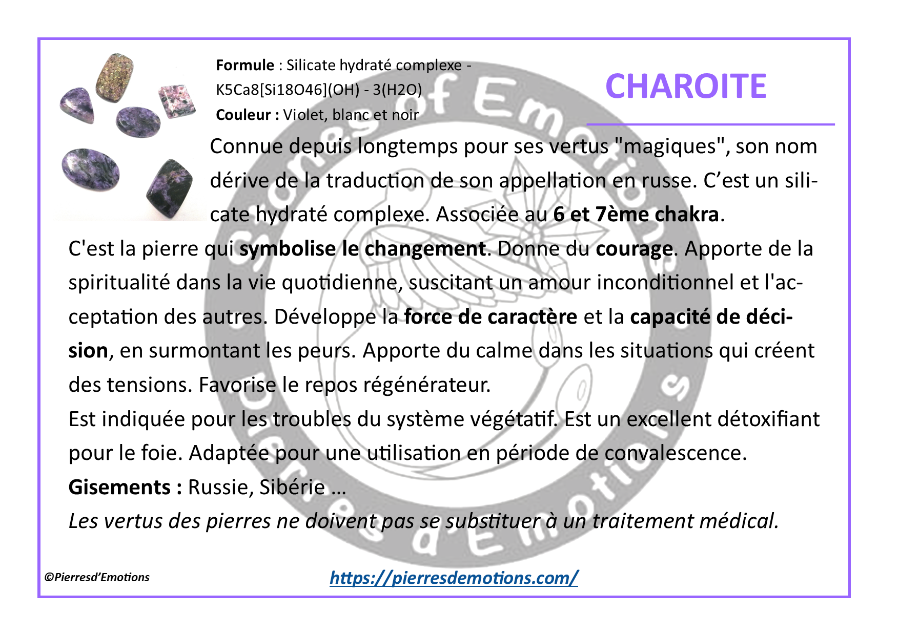 Charoite