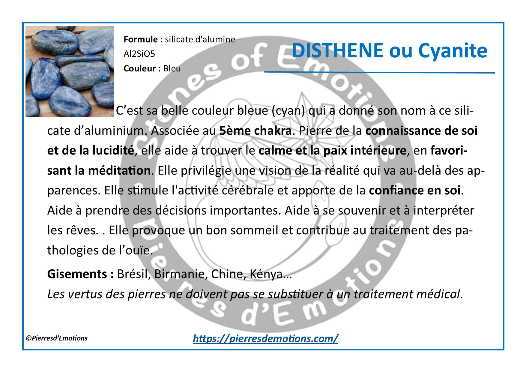 Cyanite-Disthene