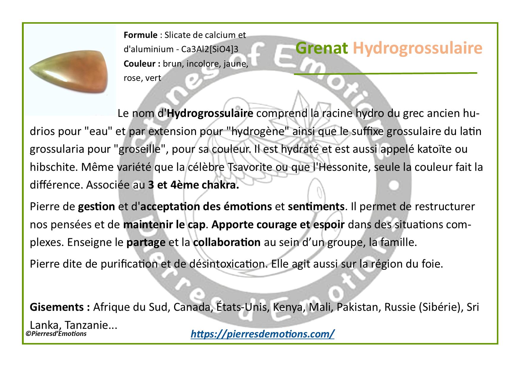 GrenatHydrogrossulaire