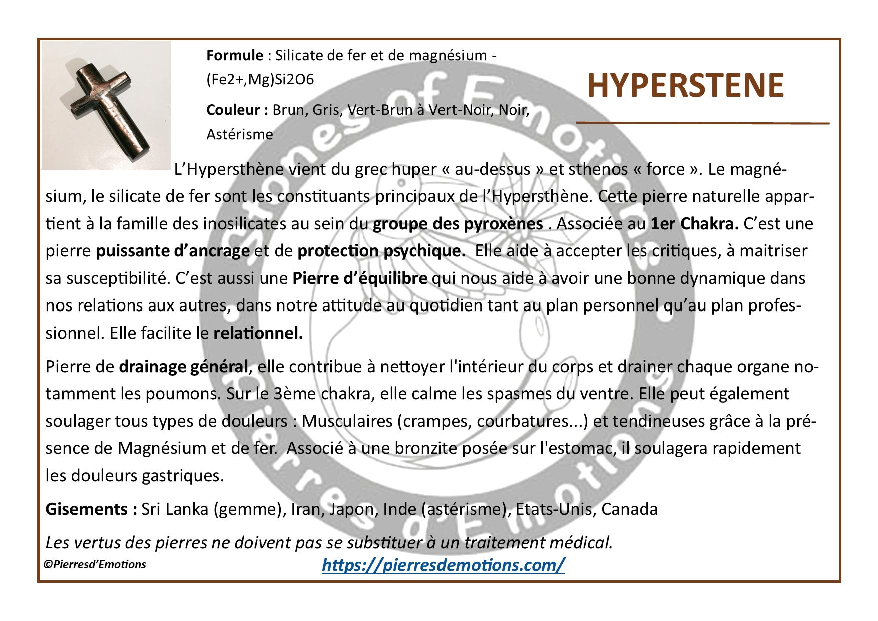 Hyperstene