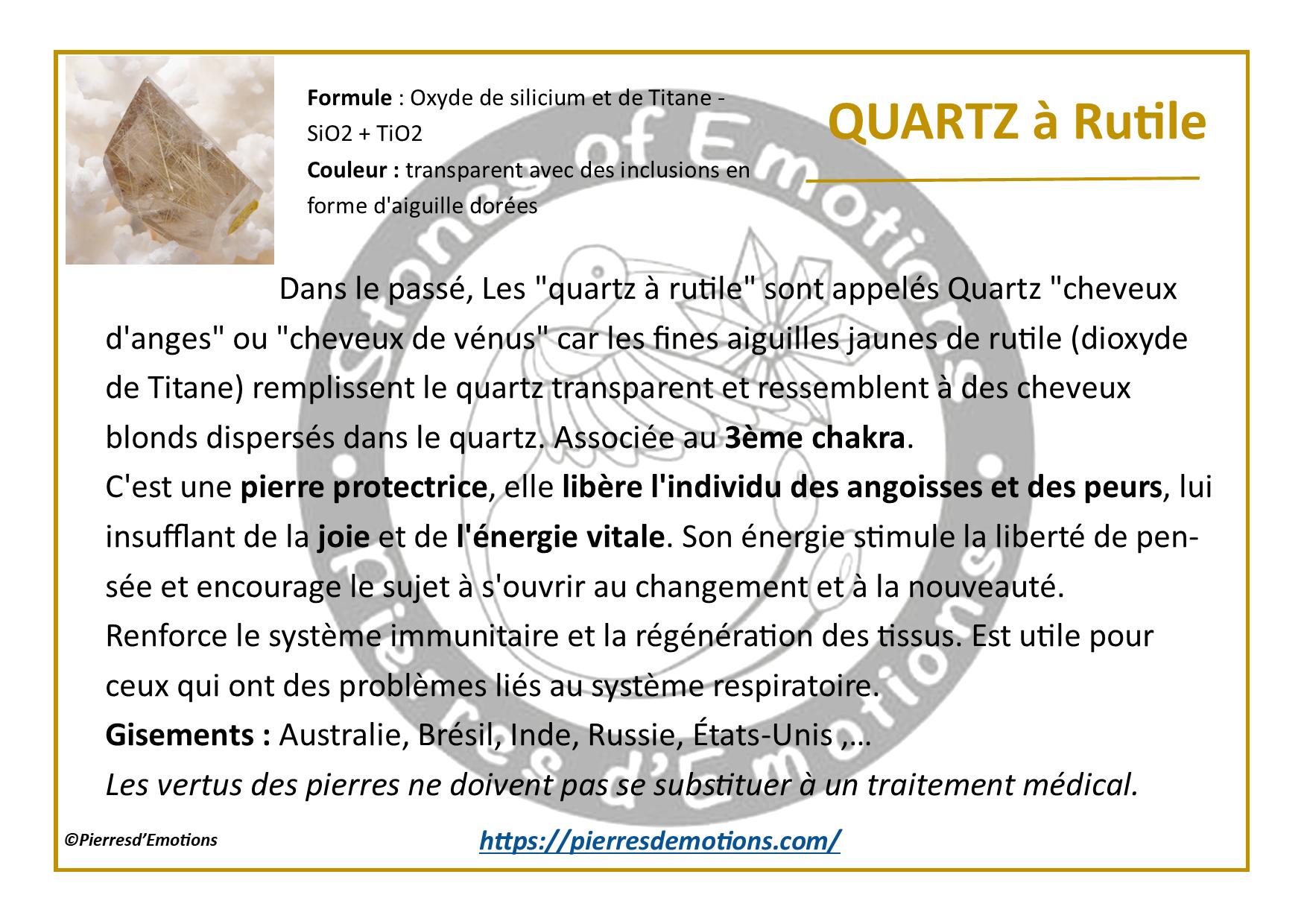 QuartzRutile