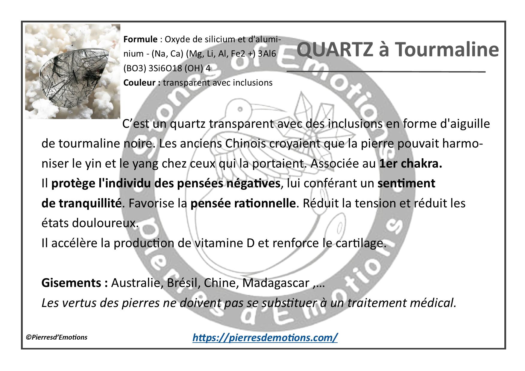 QuartzTourmaline