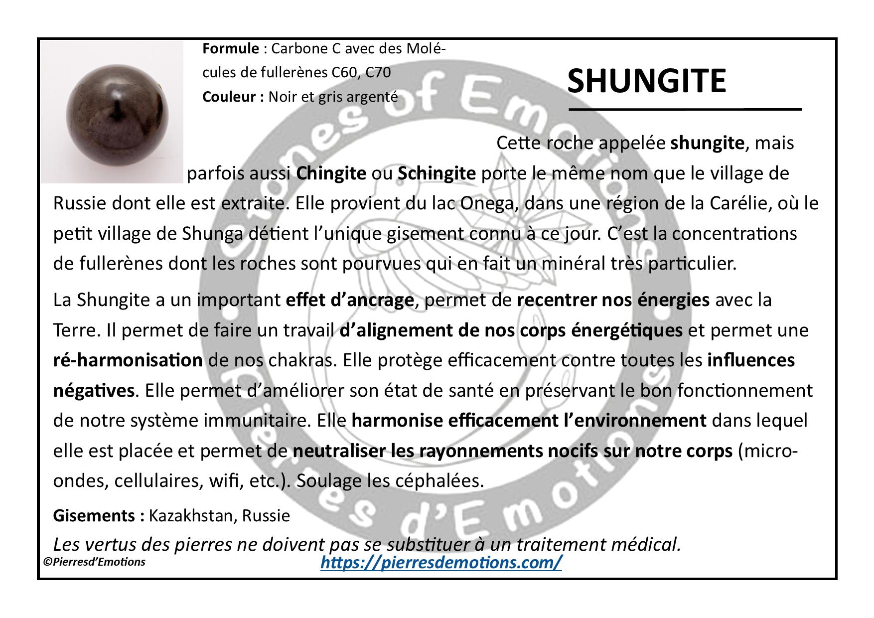 Shungite