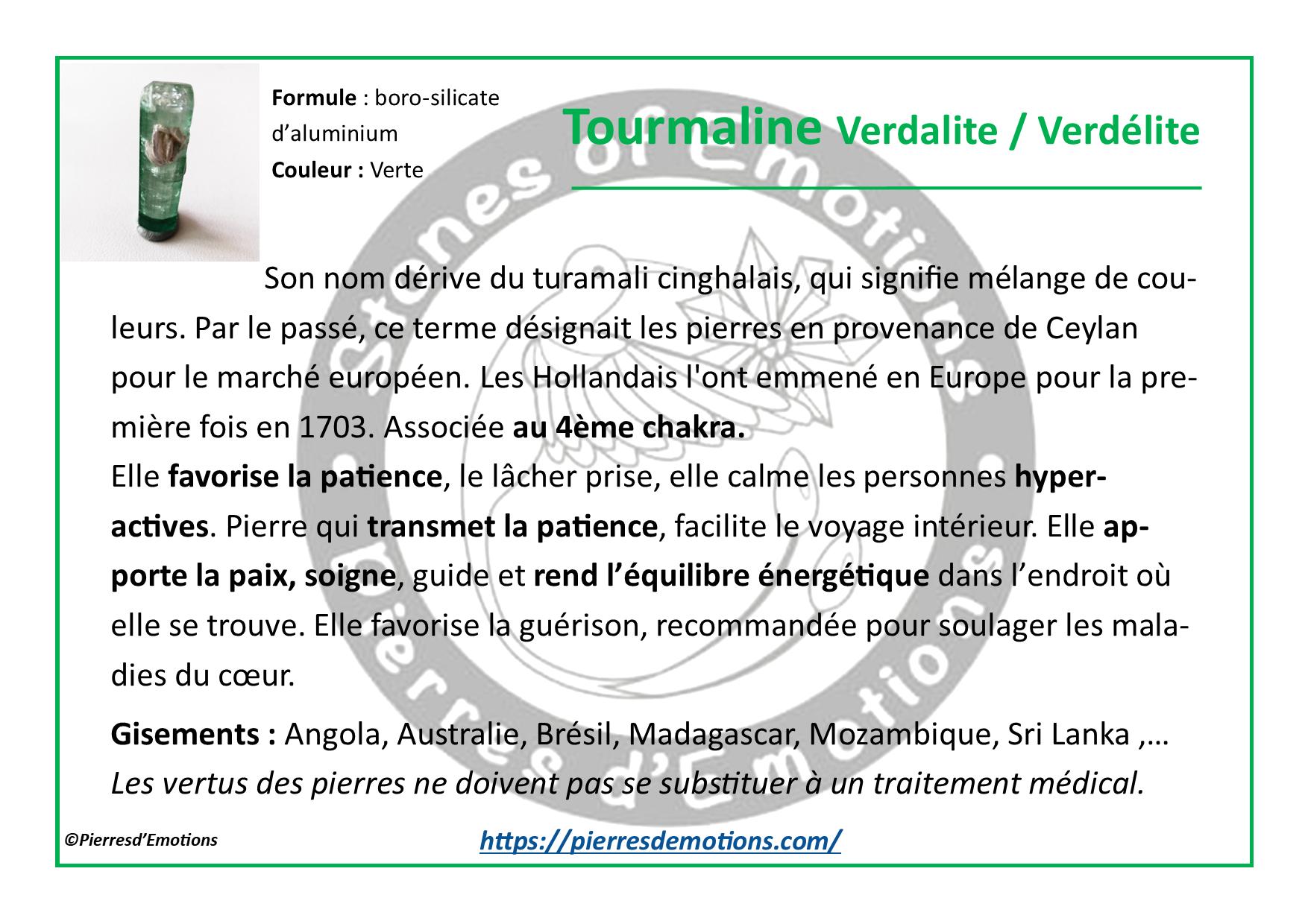 TourmalineVerdalite